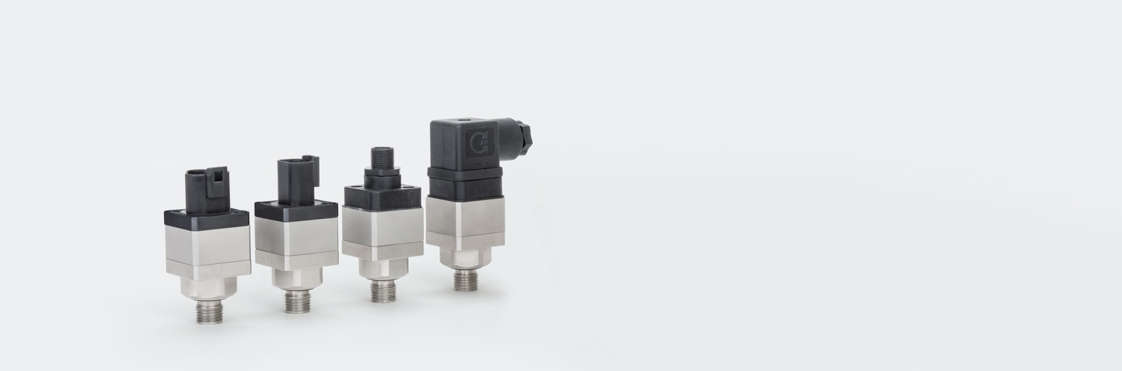 Pressure sensors for hydraulic and pneumatic applications